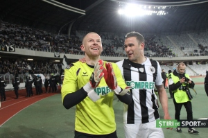 Veselovsky defendeu dois pênaltis e se tornou o herói do jogo (foto: Daniel Rus/Stiri de Sport)