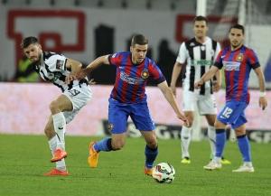 O FCSB de Chipciu não deu chances a um U Cluj apático no ataque (foto: Mediafax)