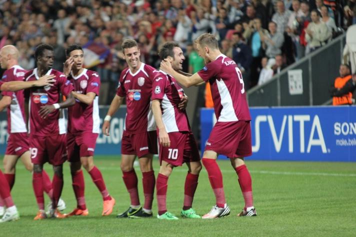 O CFR Cluj volta à parte de cima da tabela e alcança o 3º lugar da Liga I