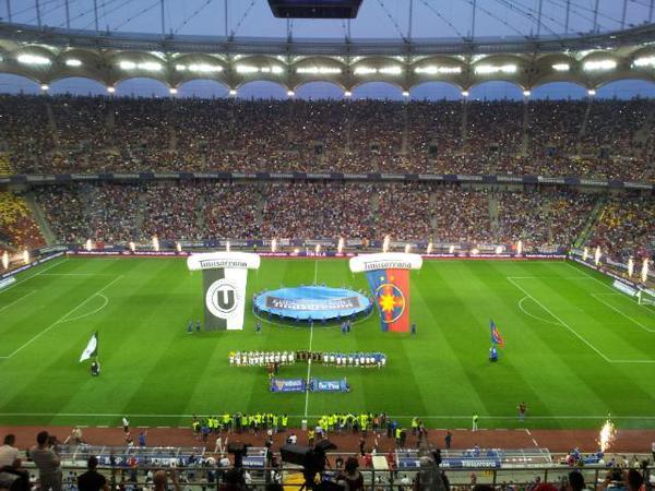Final da Copa da Romênia teve o maior público da temporada (foto: Florin Marian/ProSport)