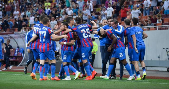 Festa em Bucareste: FCSB venceu o Botosani e só depende de si para levantar o seu 26º troféu da liga nacional (foto: GSP)
