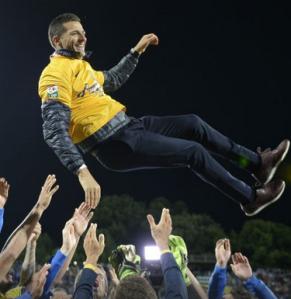 Gâlca: dois títulos em duas semanas. O terceiro pode vir no domingo, na Copa da Romênia, contra o Universitatea Cluj (foto: Alex Nicodim/GSP)