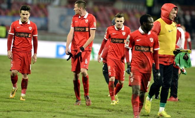 Dinamo colecionou fracassos na temporada 2014-15 (foto: Fanatik.ro)