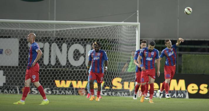 Târgu Mures tropeçou perdeu a liderança na penúltima rodada da Liga I (foto: GSP)