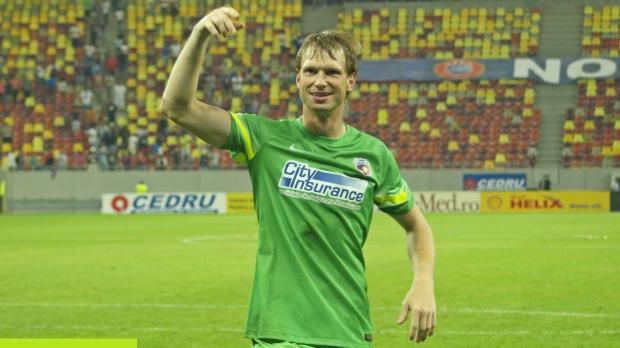 Arlauskis deixa o futebol romeno para disputar a Premier League