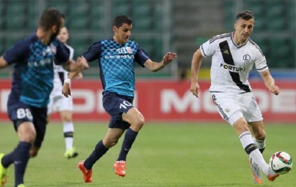O Botosani lutou, mas não conseguiu evitar a vitória do Legia Varsóvia
