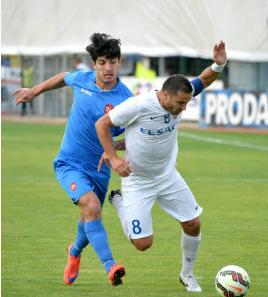Botosani, fundado em 2001, empatou em sua estreia em copas europeias (foto: Mediafax)
