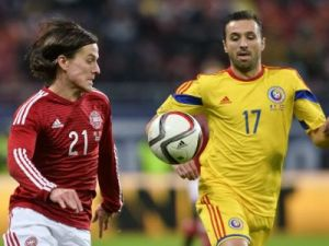 A Romênia venceu a Dinamarca em amistoso no ano passado
