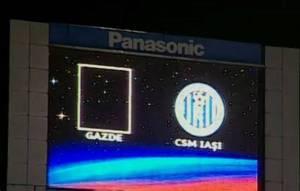 Steaua teve que jogar sem nome nem escudo contra o CSMS Iasi em dezembro de 2014, no Ghencea