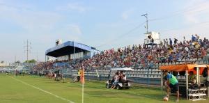 Torcida do CS U Craiova não encheu os 6 mil lugares do Estádio Extensiv (foto: O Craiovano)