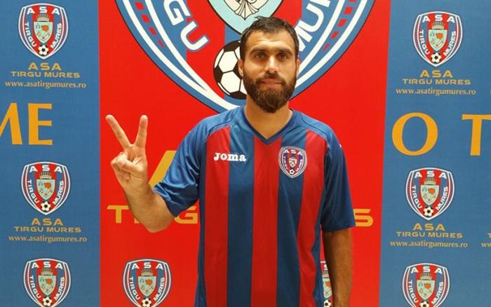 Maftei chegou, foi apresentado, vestiu a camisa mas já vai deixar o Târgu Mures (foto: asatirgumures.ro)