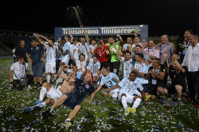 Târgu Mures se vinga do Steaua/FCSB e é campeã da Supercopa da Romênia (Foto: ProSport)