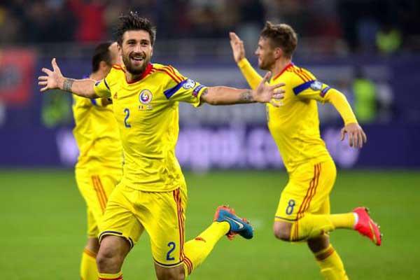 A seleção romena atual é muito pior que a de 2000, mas alcançou uma posição igual no Ranking da FIFA