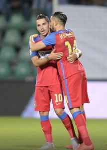 Stanciu e Hamroun marcaram os gols do FCSB (foto: Alex Nicodim/GSP)