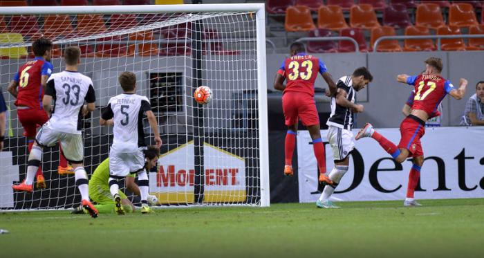 Varela marcou o gol de empate do FCSB (foto: Gazeta Sporturilor)