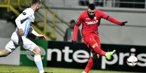 Budescu marca o primeiro gol do Astra, após jogada genial de Filipe Teixeira