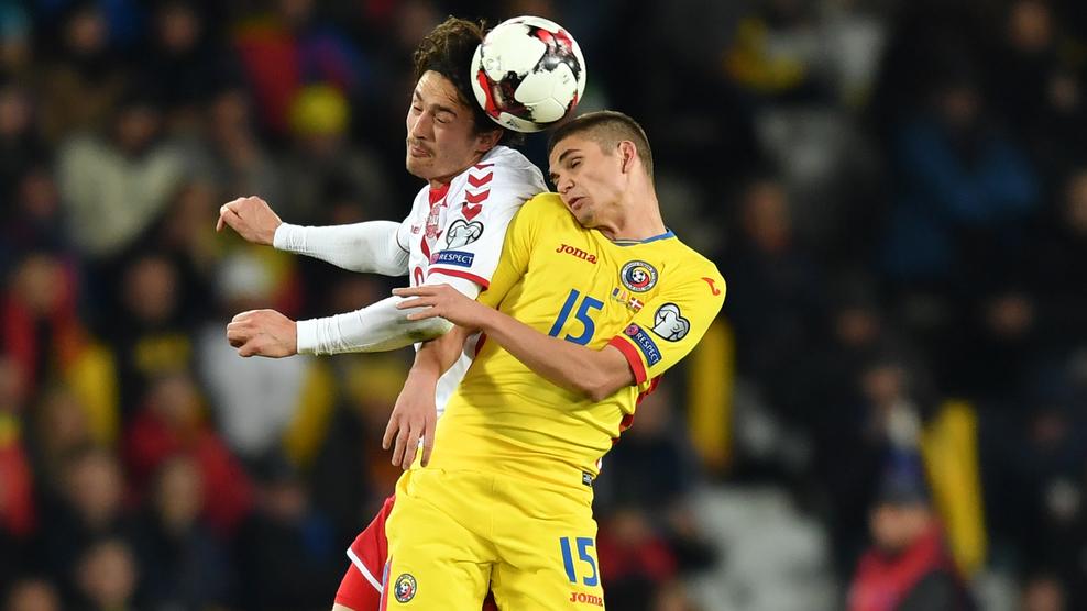 Romênia e Dinamarca empatam em 0x0 pela eliminatórias
