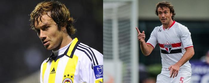 Lugano a jucat de cinci ani la Fenerbahce. In 2016, a revenit la echipa lui de suflet, São Paulo.