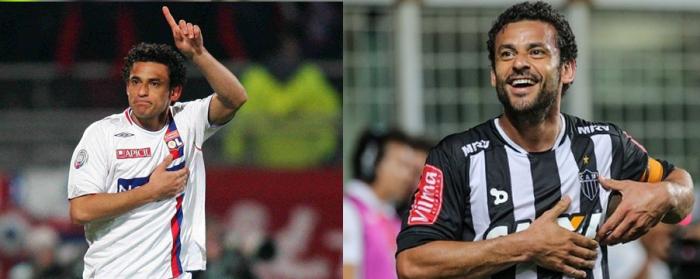 Fred a jucat patru ani la Lyon. In Brazilia, dupa sapte ani la Fluminense, a semnat cu Atlético-MG