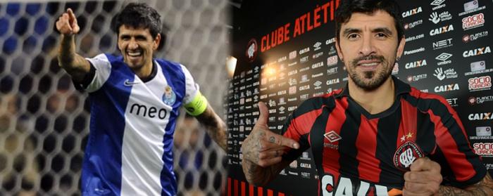 Lucho González e o fosta glorie la Porto. E un transfer super important facut de Atlético-PR in 2017.
