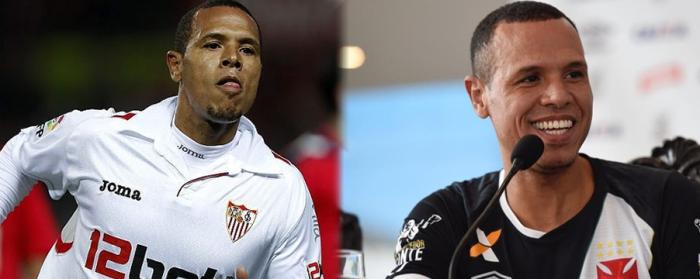 Jucând la Sevilla, Luis Fabiano a mers la Cupa Mondiala 2010, fiind vârful Braziliei. Astazi e transferul anului pentru Vasco.