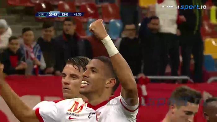 Rivaldinho marca seu primeiro gol pelo Dinamo (foto: reprodução DigiSport)