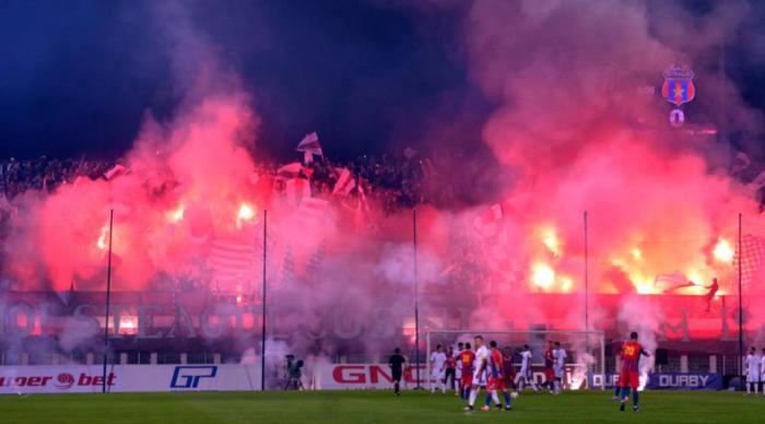 Rapid e Steaua deram show na quarta divisão romena (foto: Digisport)
